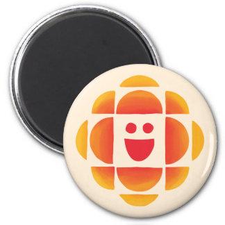 CBC Kids Logo 6 Cm Round Magnet