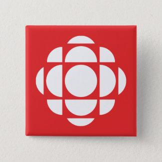 CBC/Radio-Canada Gem 15 Cm Square Badge