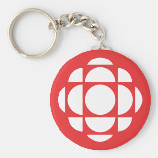 CBC/Radio-Canada Gem Basic Round Button Key Ring