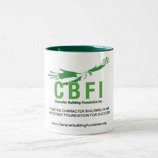 CBFI Two Tone Mugs (Hunter Green) 15 oz