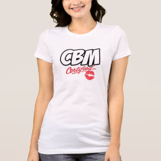 CBM CERTIFIED TEE (LADIES)