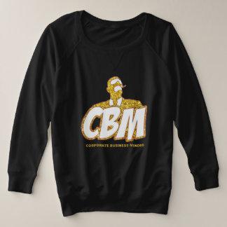 CBM LONG SLEEVE (LADIES) PLUS SIZE SWEATSHIRT