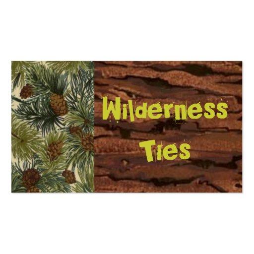 cc_bark_zoom, md_vbcpineivo_zoom, WildernessTies Business Card Template