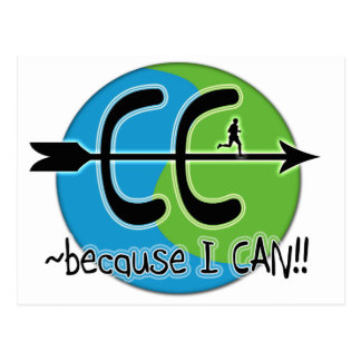 CC Cross Country - Because I CAN!! Postcard