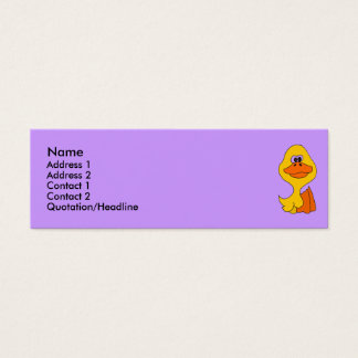 CC- Funny Duck Business Cards