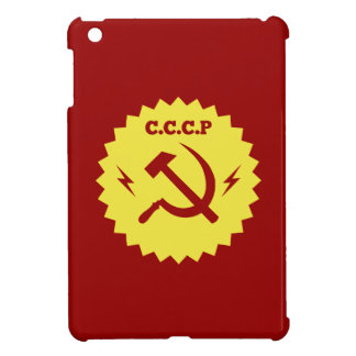 CCCP communist Badge Design Cover For The iPad Mini