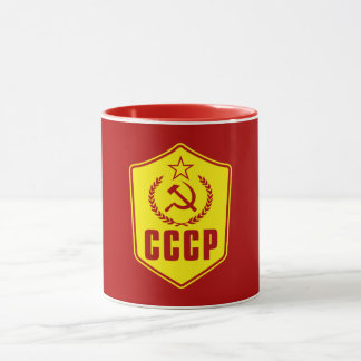 CCCP Communist Emblem Mugs