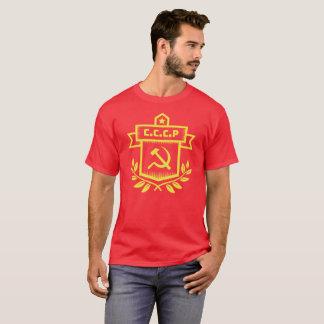 CCCP Emblem Men's Basic Dark T-Shirt