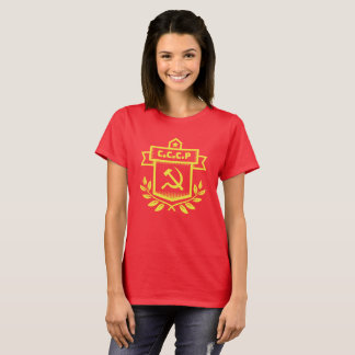 CCCP Emblem Women's Basic T-Shirt