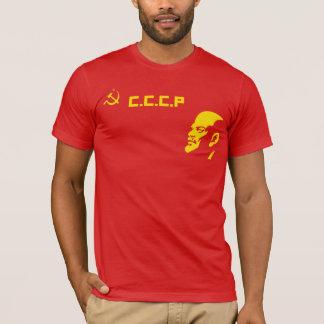 CCCP Hammer And Sickle Lenin Retro T Shirt