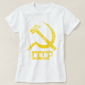 CCCP Hammer and Sickle Vintage Tshirt