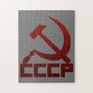 CCCP Hammer & Sickle Jigsaw Puzzle