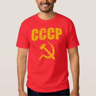 CCCP Hammer Sickle Tees