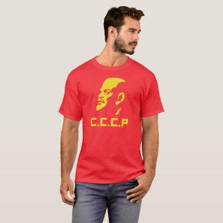 CCCP Lenin Portrait Men's Dark T-Shirt
