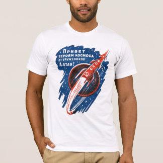 CCCP Logo on Soviet Space Rocket T-Shirt