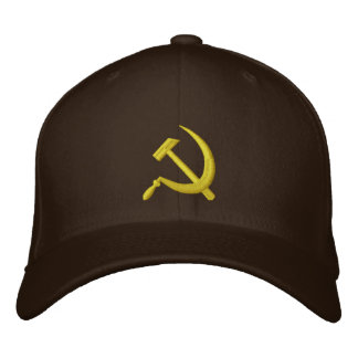 CCCP Soviet Sickle & Hammer Hat Embroidered Hat