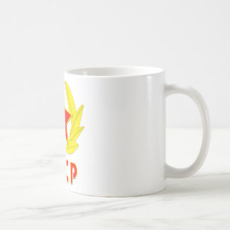 cccp ussr hammer and sickle emblem coffee mug