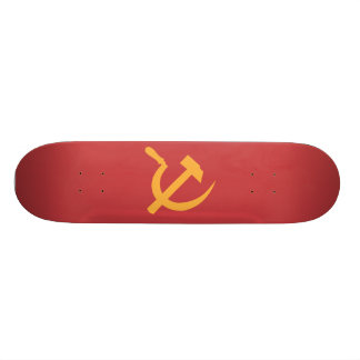 cccp ussr hammer and sickle skate decks