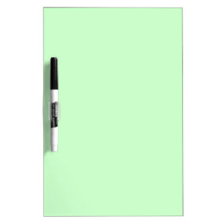 #CCFFCC Hex Code Web Color Light Mint Green Dry Erase Board
