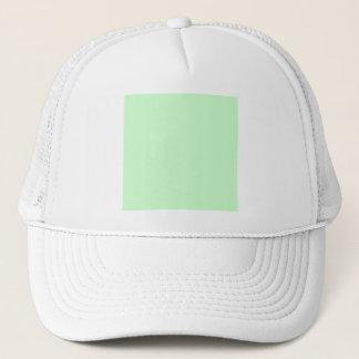 #CCFFCC Hex Code Web Color Light Mint Green Trucker Hat
