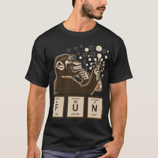 CChemistry monkey discovered fun T-Shirt