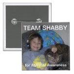 CCLU Team SHABBY Pinback Buttons