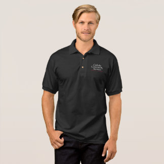 CCS Black Mens Polo