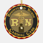 CCU RN CARDIAC CARE REGISTERED NURSE ORNAMENT XMAS