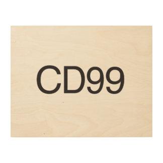 CD99.ai Wood Prints