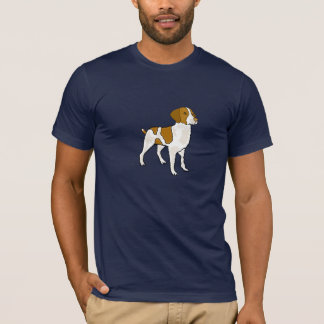 CD- Brittany Spaniel Cartoon Shirt
