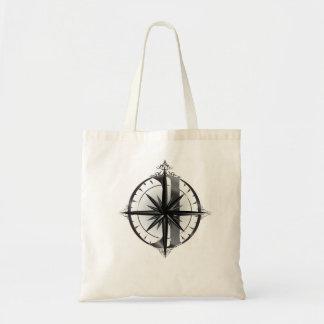 CD Compass Logo Tote Bag