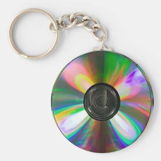 Cd disc Keychain