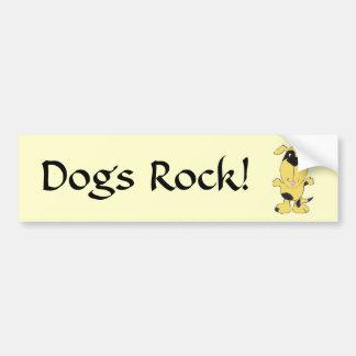 CD- Dogs Rock Bumper Sticker
