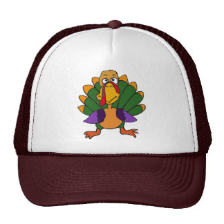 CD- Funny Turkey Cartoon Hat