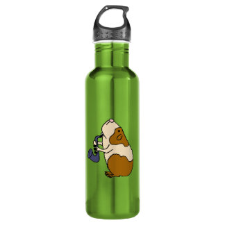 CD- Guinea Pig Playing the Saxophone 710 Ml Water Bottle