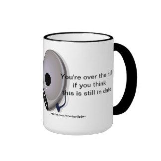Cd Player Over The Hill 40th Birthday Coffee Mug