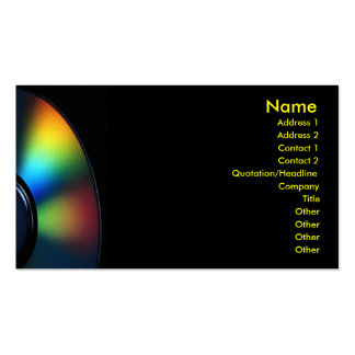 CD Profile Card Business Cards
