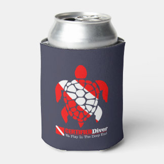 CD Sea Turtle Can Cooler