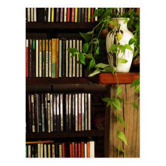 CD Shelves Postcard