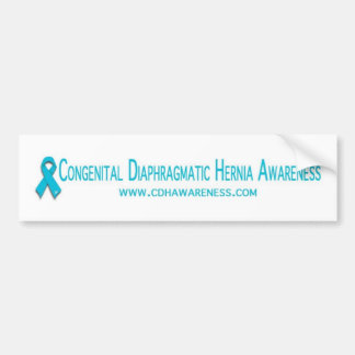 CDH Awareness Bumper Sticker