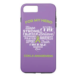 CDKL5 Awareness Phone Case, Sonya Story, CDKL5 iPhone 7 Plus Case