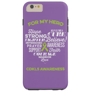 CDKL5 Awareness Phone Case, Sonya Story, CDKL5 Tough iPhone 6 Plus Case