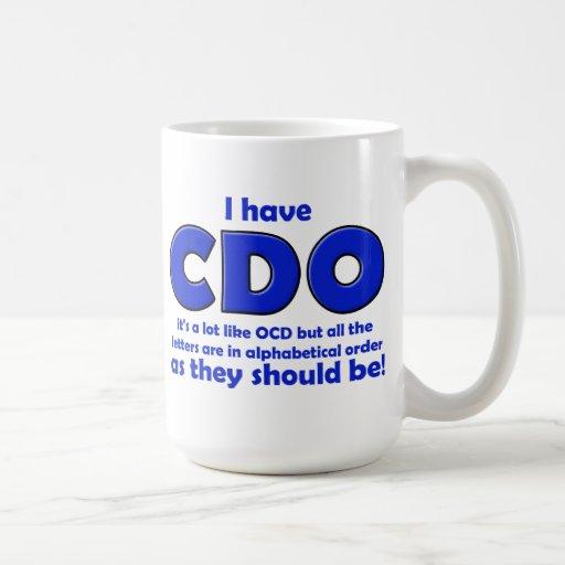 CDO OCD Funny Mug