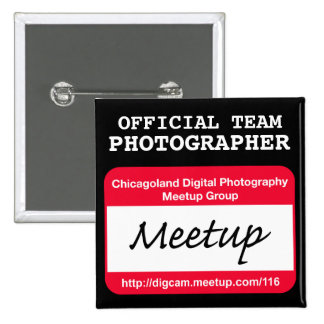 CDP  Photographer badge - black