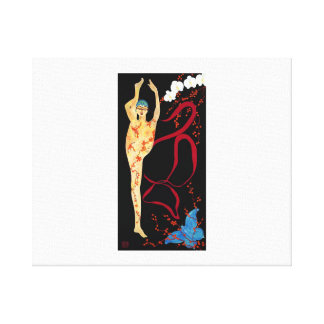 CDS8 Ribbon Gallery Wrap Canvas