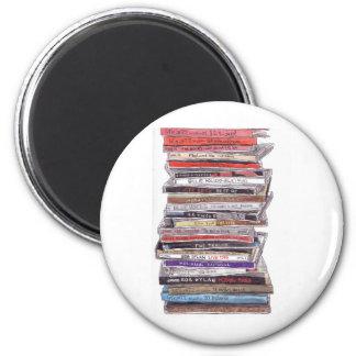 CD's 6 Cm Round Magnet