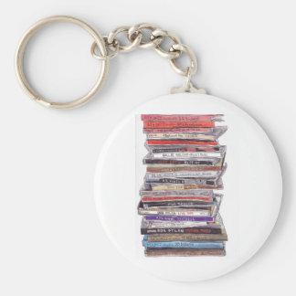 CD's Basic Round Button Key Ring