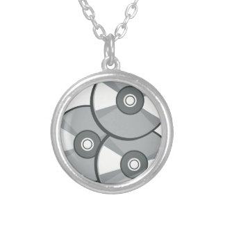 Cds Silver Plated Necklace