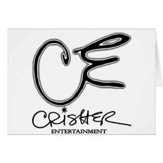 CE Crisher Entertainment Greeting Card