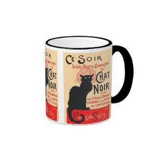 Ce Soir Le Chat Noir, Théophile Steinlen Coffee Mugs